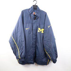 Vintage Nike University of Michigan Parka Jacket